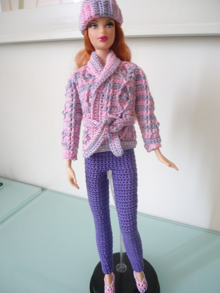 Inspirational 189 Best Images About Doll Barbie On Pinterest Crochet Fashion Of Adorable 43 Photos Crochet Fashion