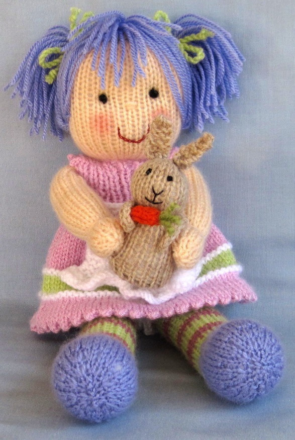 192 best images about Knitting Dolls and Toys on