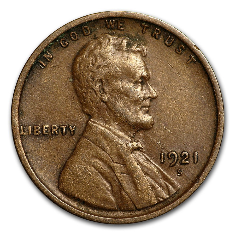 Inspirational 1921 S Lincoln Cent Xf Silver Wheat Penny Of Awesome 48 Pics Silver Wheat Penny