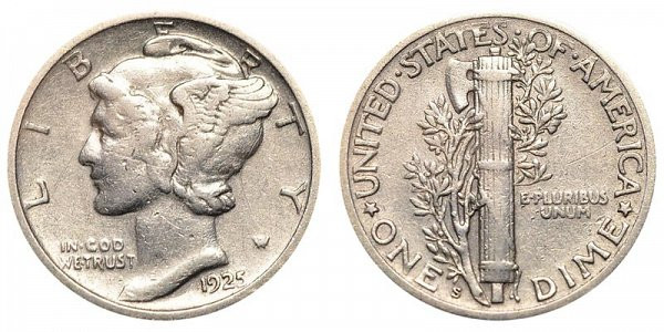 Inspirational 1925 S Mercury Silver Dimes Value and Prices Mercury Dime Prices Of Superb 49 Ideas Mercury Dime Prices