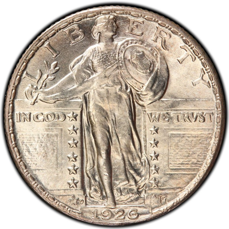 1926 Standing Liberty Quarter Values and Prices Past