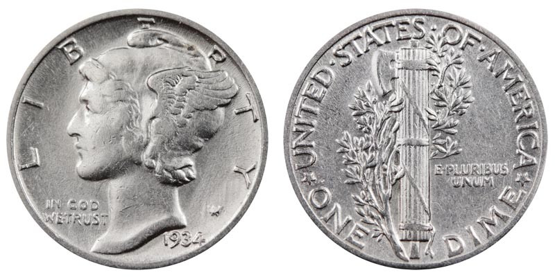 Inspirational 1934 Mercury Silver Dimes Value and Prices Mercury Dime Prices Of Superb 49 Ideas Mercury Dime Prices