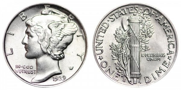 Inspirational 1939 S Mercury Dimes Winged Liberty Silver Dime Value and Mercury Dime Prices Of Superb 49 Ideas Mercury Dime Prices