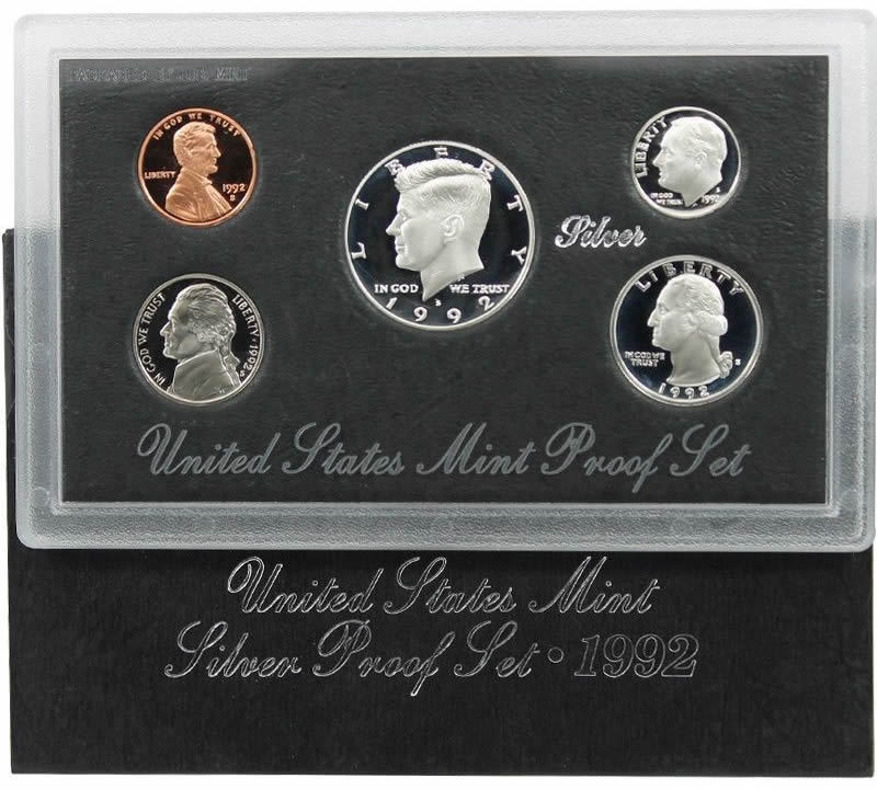 Inspirational 1992 S Us Mint Silver Proof Coin Set Us Mint Proof Sets Of Wonderful 45 Pics Us Mint Proof Sets