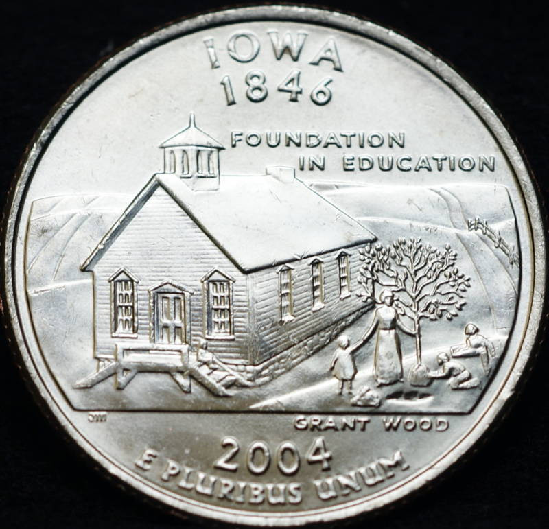 Inspirational 2004 P Iowa State Bu Washington Quarter State Quarter Set Value Of Luxury Mint Statehood Quarter Errors State Quarter Set Value