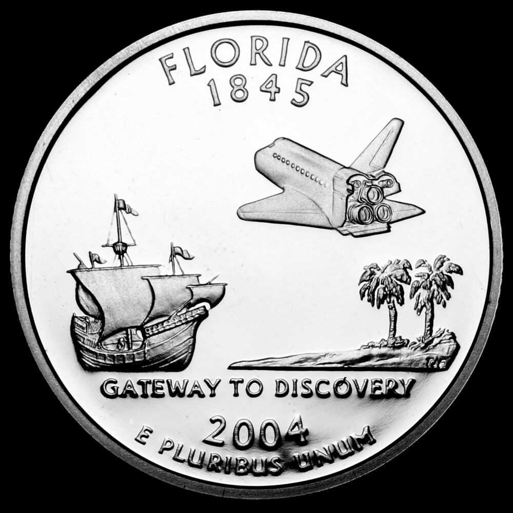 Inspirational 2004 S Florida Mint Silver Proof Statehood Washington State Quarter Set Value Of Lovely 2014 D Everglades National Park Quarter Value America State Quarter Set Value