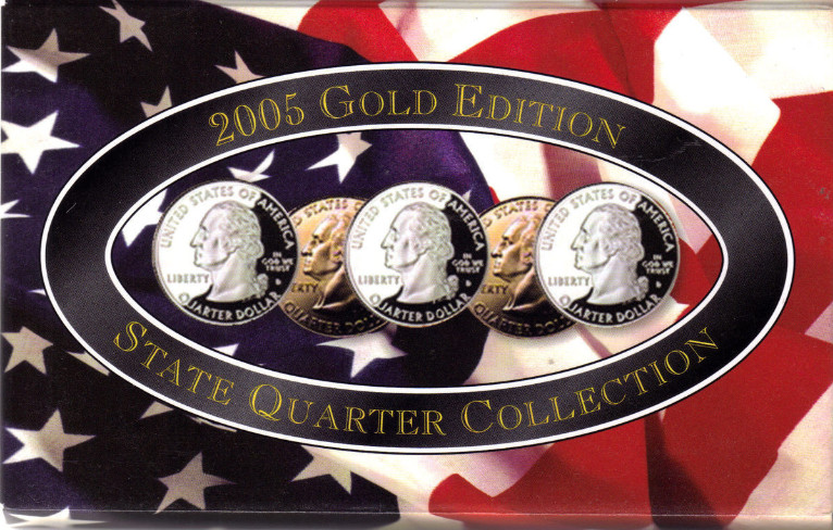 2005 Gold Edition State Quarter Collection and 50 similar