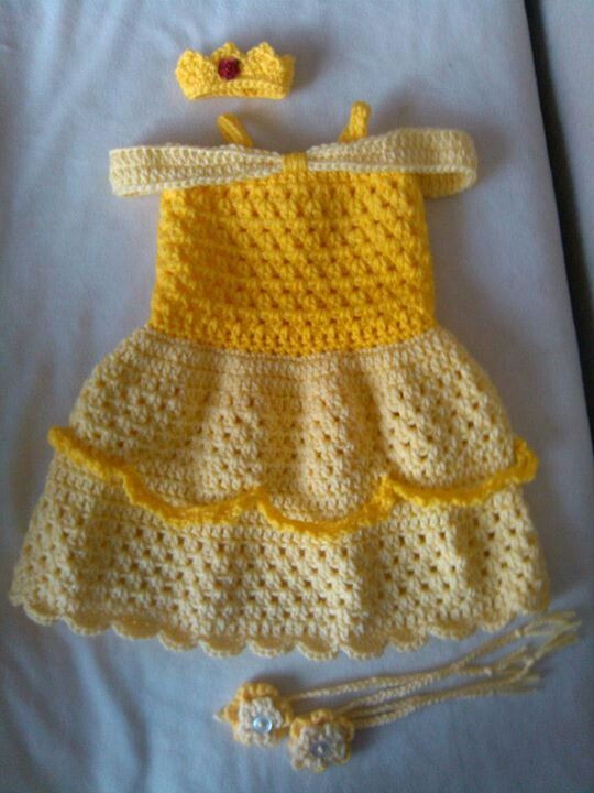 204 best images about Crochet Baby DRESSES on Pinterest