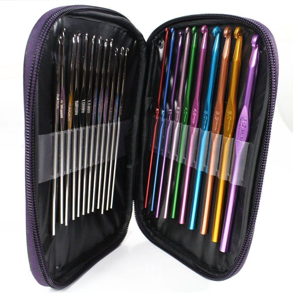 Inspirational 22 Piece Crochet Hook Set and Case Free Shipping Crochet Hook Sets with Case Of Amazing 49 Images Crochet Hook Sets with Case