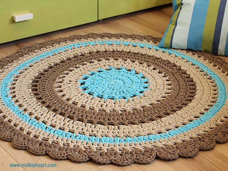 Inspirational 25 Best Ideas About Knit Rug On Pinterest T Shirt Rug Crochet Of Amazing 48 Pics T Shirt Rug Crochet