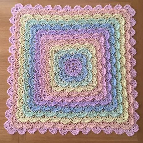 Inspirational 253 Best Images About Baby & toddler Crochet Blankets On Shell Pattern Crochet Baby Blanket Of Beautiful 41 Pics Shell Pattern Crochet Baby Blanket