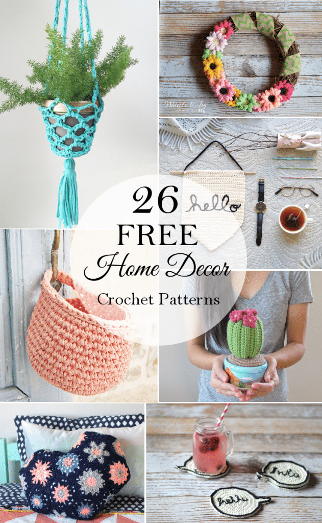 Inspirational 26 Free Crochet Decor Patterns Whistle and Ivy Crochet Decor Of Brilliant 47 Pics Crochet Decor