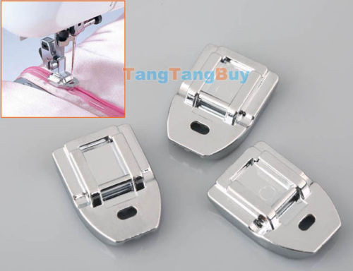 Inspirational 3 X Invisible Zipper Zip Foot for Janome Brother Singer Singer Sewing Machine Zipper Foot Of Wonderful 43 Pictures Singer Sewing Machine Zipper Foot