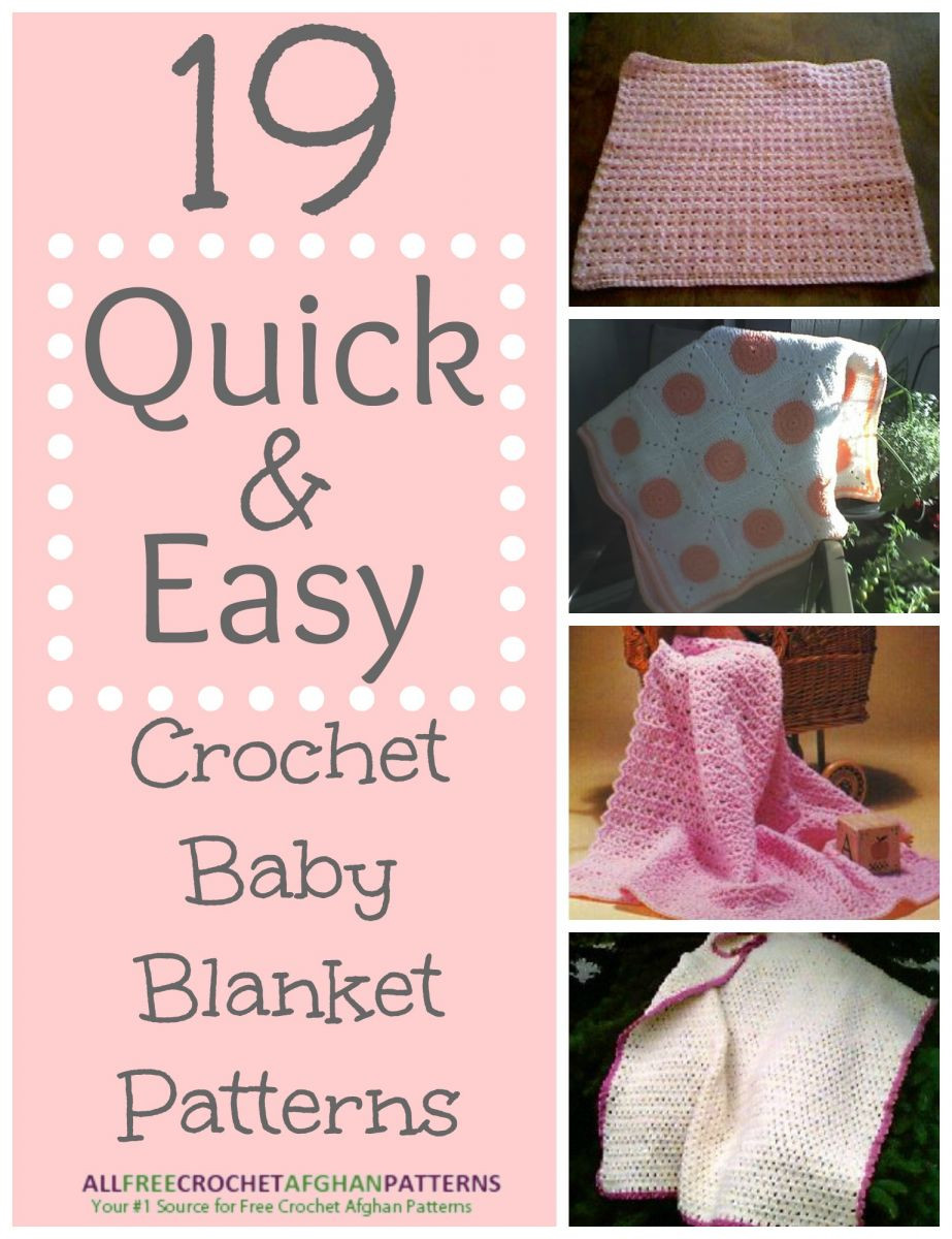 Inspirational 30 Quick and Easy Crochet Baby Blanket Patterns Fast Crochet Baby Blanket Of Fresh 40 Photos Fast Crochet Baby Blanket
