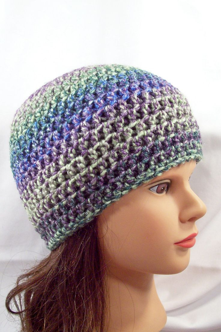 crochet adult hats