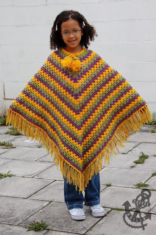 Inspirational 37 Creative Crochet Poncho Patterns for You Patterns Hub Crochet Baby Poncho Of Amazing 45 Pics Crochet Baby Poncho