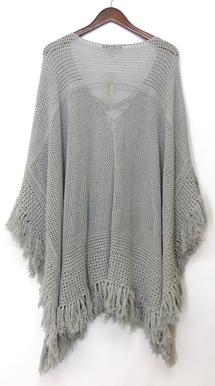 Inspirational 39 Best Poncho Patterns Images On Pinterest Ponco Crochet Of Great 49 Images Ponco Crochet