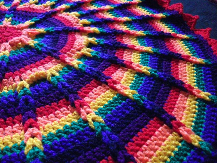 Inspirational 46 Best Images About Haakwerk Jacob S Ladder On Pinterest Round Crochet Blanket Of Fresh 46 Models Round Crochet Blanket