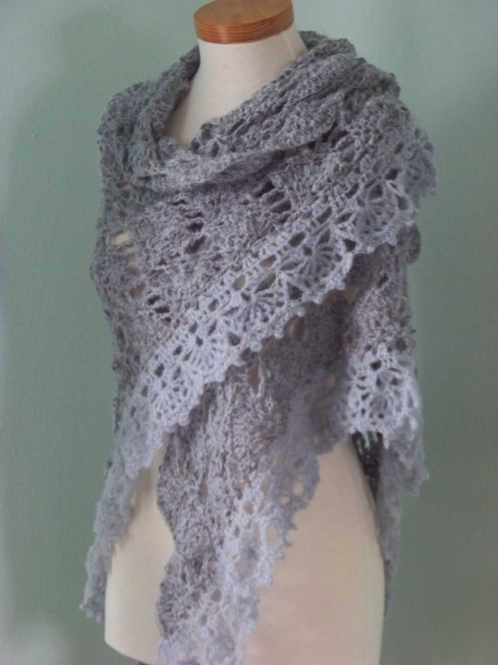 Inspirational 5 Best Of Crochet Lacy Scarf Free Crochet Shawl Crochet Lace Shawl Pattern Of Amazing 45 Models Crochet Lace Shawl Pattern
