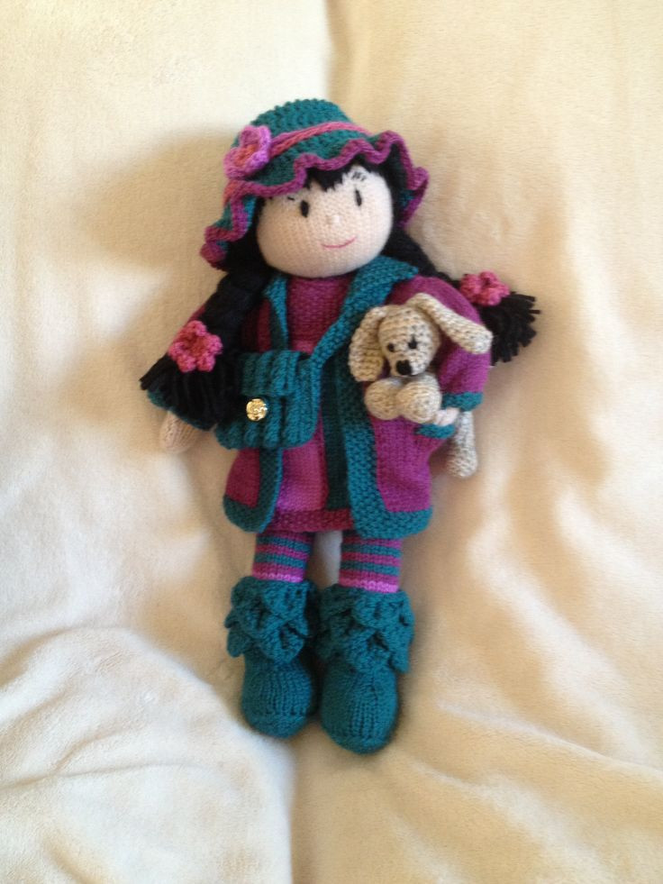 Inspirational 64 Best Images About Knit and Crochet Dolls and toys On Knitted Doll Patterns Of Lovely 40 Models Knitted Doll Patterns
