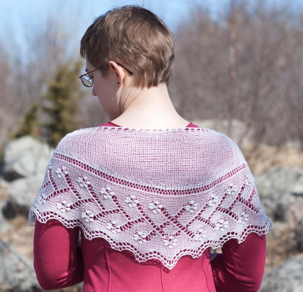 Inspirational 7 Delicate Estonian Lace Knitting Patterns to Swoon Over Knit Lace Shawl Of Contemporary 41 Pics Knit Lace Shawl