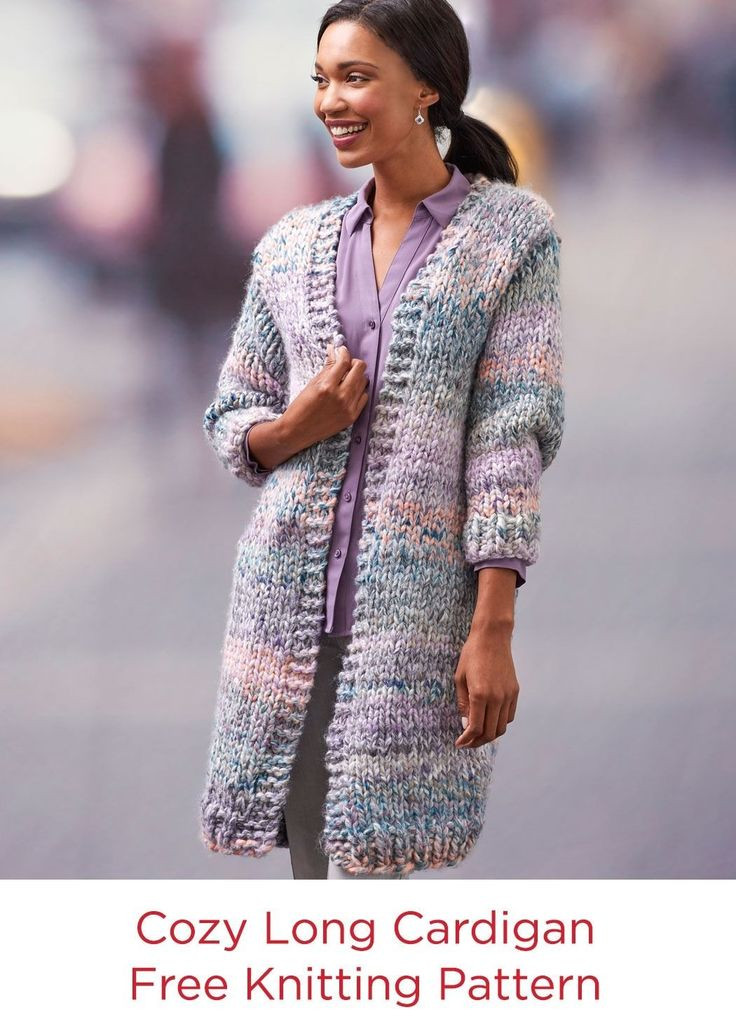 Inspirational 75 Best Red Heart Fashion Yarns Images On Pinterest Long Cardigan Knitting Pattern Of Adorable 44 Models Long Cardigan Knitting Pattern