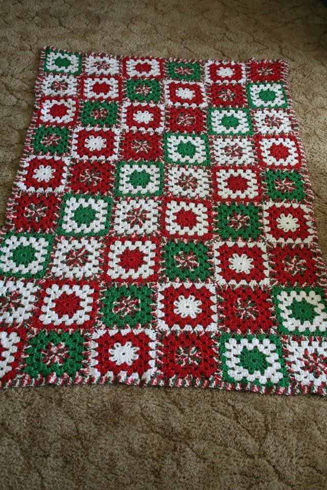 872 best images about CHRISTMAS AFGHANS on Pinterest