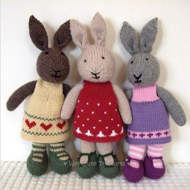 Inspirational 976 Best Knitted Bunnies Images On Pinterest Knitted Bunny Pattern Of Unique 40 Pics Knitted Bunny Pattern
