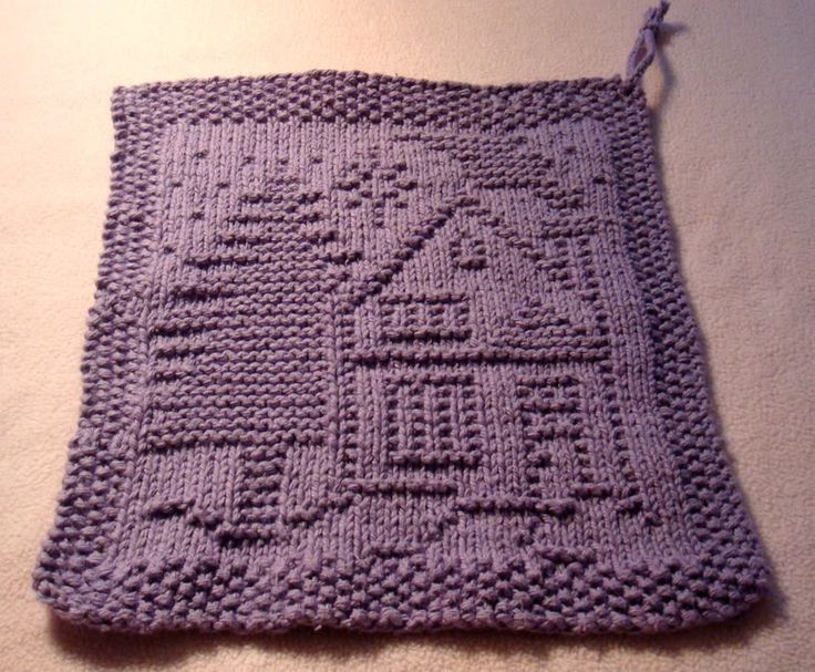 Inspirational A Christmas Dishcloth House and Tree Free Pattern From Knitted Dishcloth Patterns for Christmas Of Adorable 43 Pics Knitted Dishcloth Patterns for Christmas