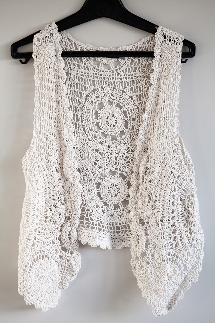Inspirational A Crochet Vest Accentuating Your ordinary Outfits with Crochet Vest Of Fresh 45 Pictures Crochet Vest