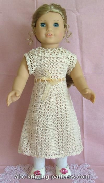 Inspirational Abc Knitting Patterns American Girl Doll Lace Summer Dress American Girl Doll Clothes Patterns Of Incredible 40 Images American Girl Doll Clothes Patterns