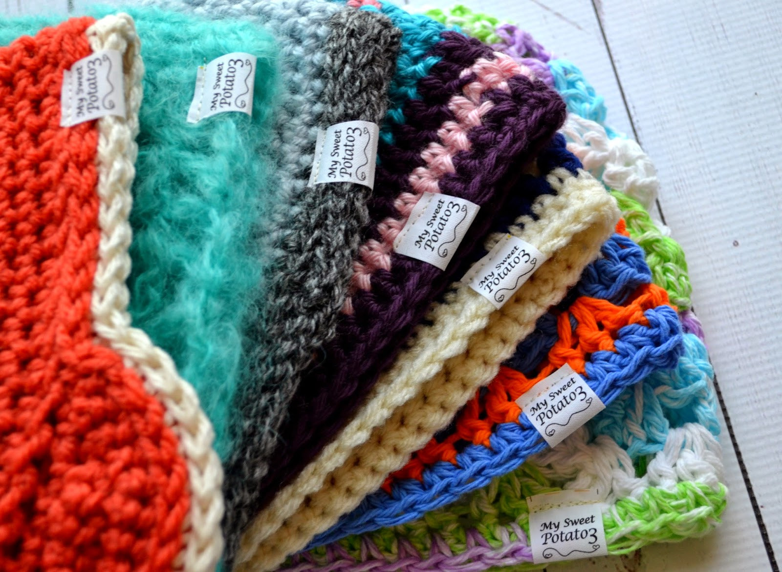 Inspirational Adding Fabric Labels to Your Crochet Items Sweet Potato 3 Selling Crochet Of Top 47 Ideas Selling Crochet