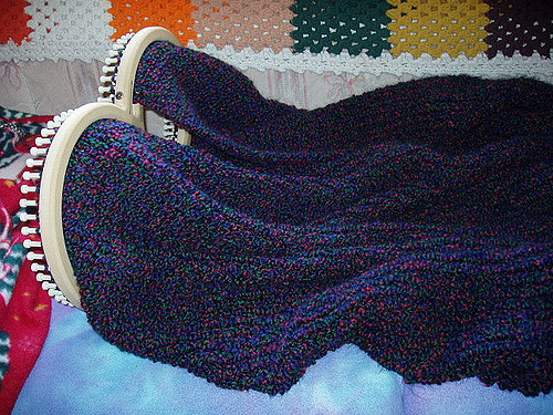 Inspirational Afghan On S Loom Afghan Knitting Loom Of Superb 49 Pics Afghan Knitting Loom