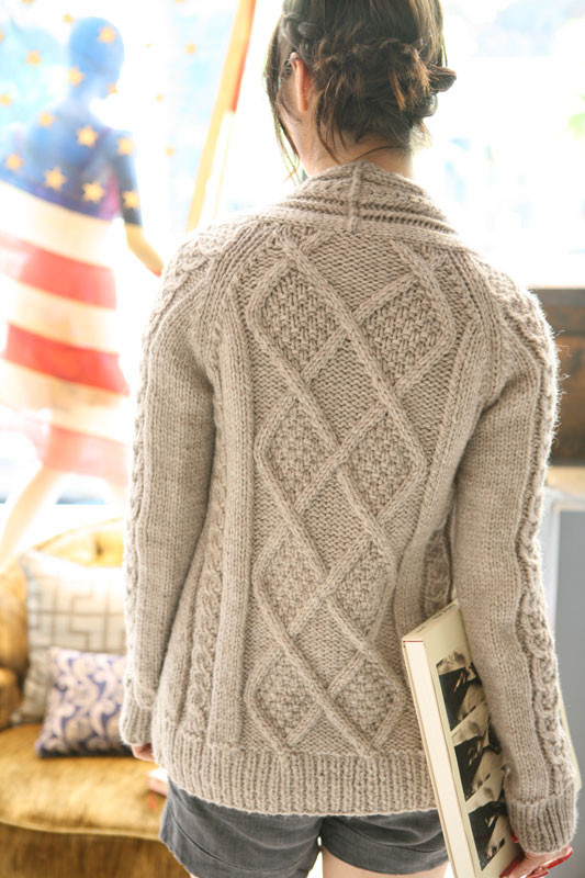 "Inspirational Aidez Cable Knit Sweater Pattern Of New Lace & Cable Sweater Dk Wool 30"" 40"" Knitting Cable Knit Sweater Pattern"