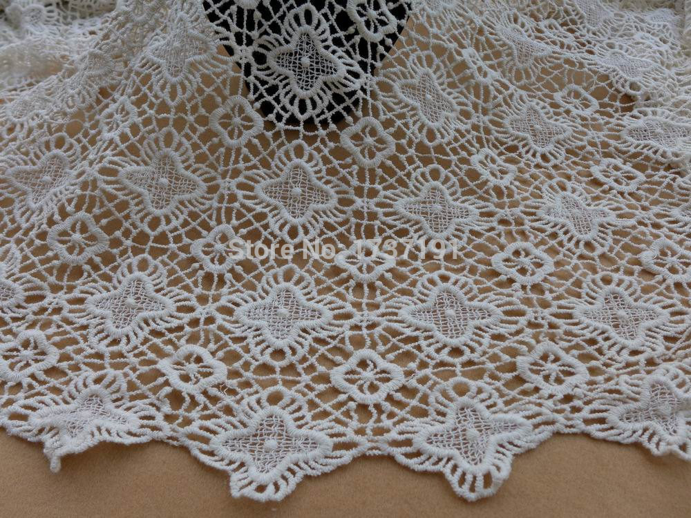 Inspirational Aliexpress Buy Cream White Fabric Vintage Crochet Crochet Lace Fabric Of Attractive 45 Images Crochet Lace Fabric