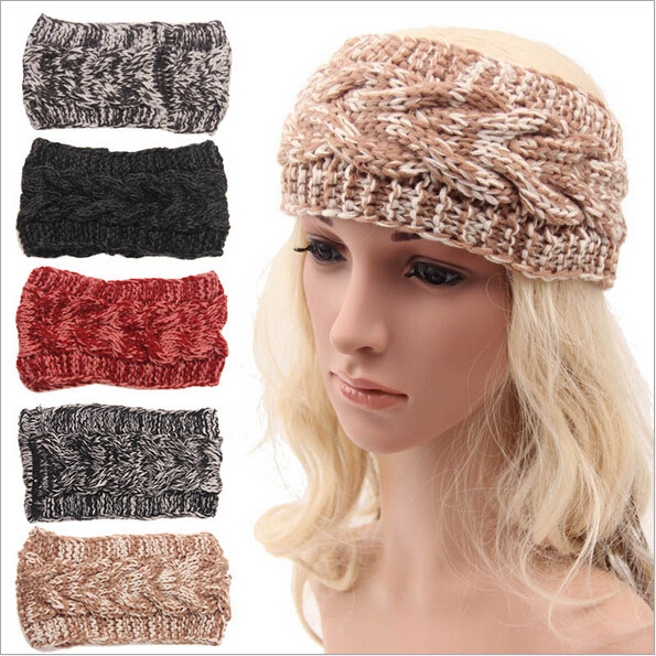 Inspirational Aliexpress Buy Girls Fleece Crochet Winter Knit Knit Winter Headband Of Charming 42 Pictures Knit Winter Headband