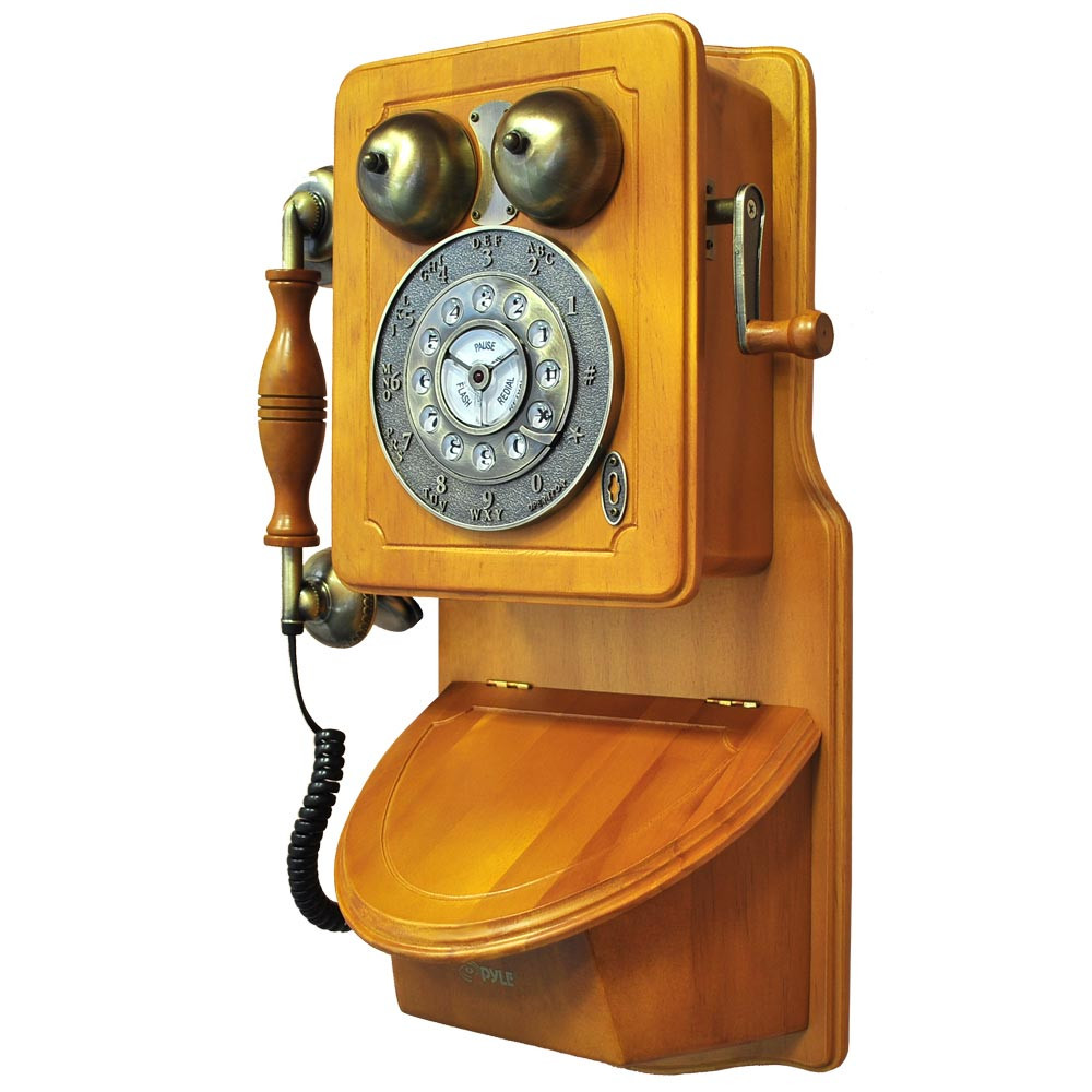 Inspirational Amazon Pyle Prt45 Retro Antique Country Wall Phone Old Time Phone Of Great 44 Models Old Time Phone