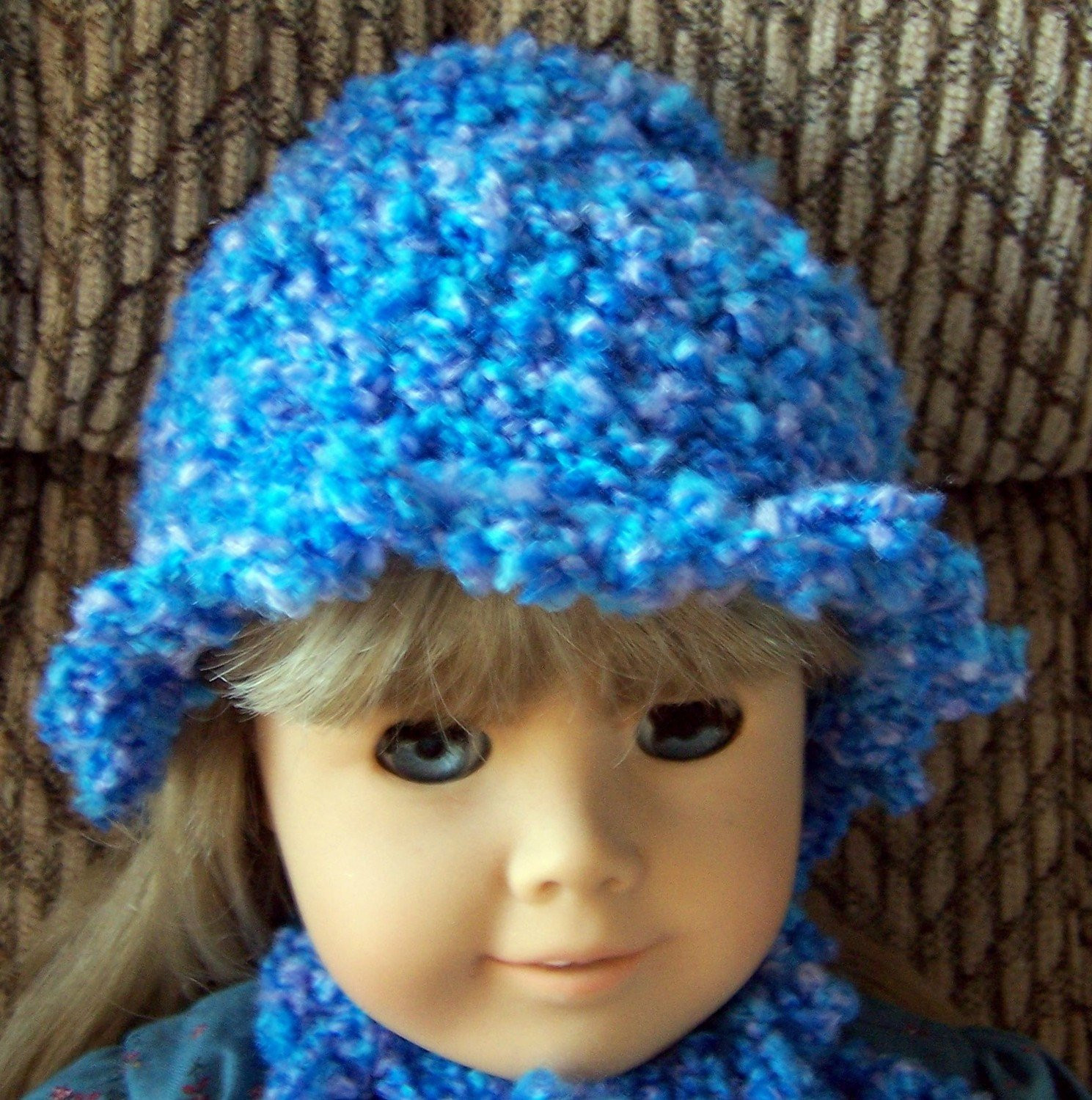 american girl hat and scarf crochet