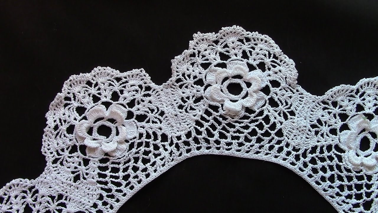 Inspirational An Irish Roses Collar In Crochet Lace Laces Crochet Of Beautiful 47 Images Laces Crochet