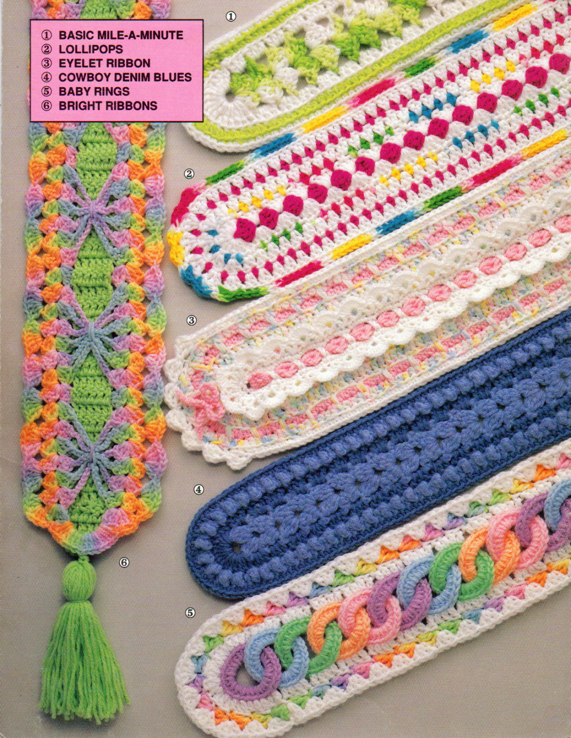 Annie s Mile A Minute Baby Afghans Patterns to Crochet