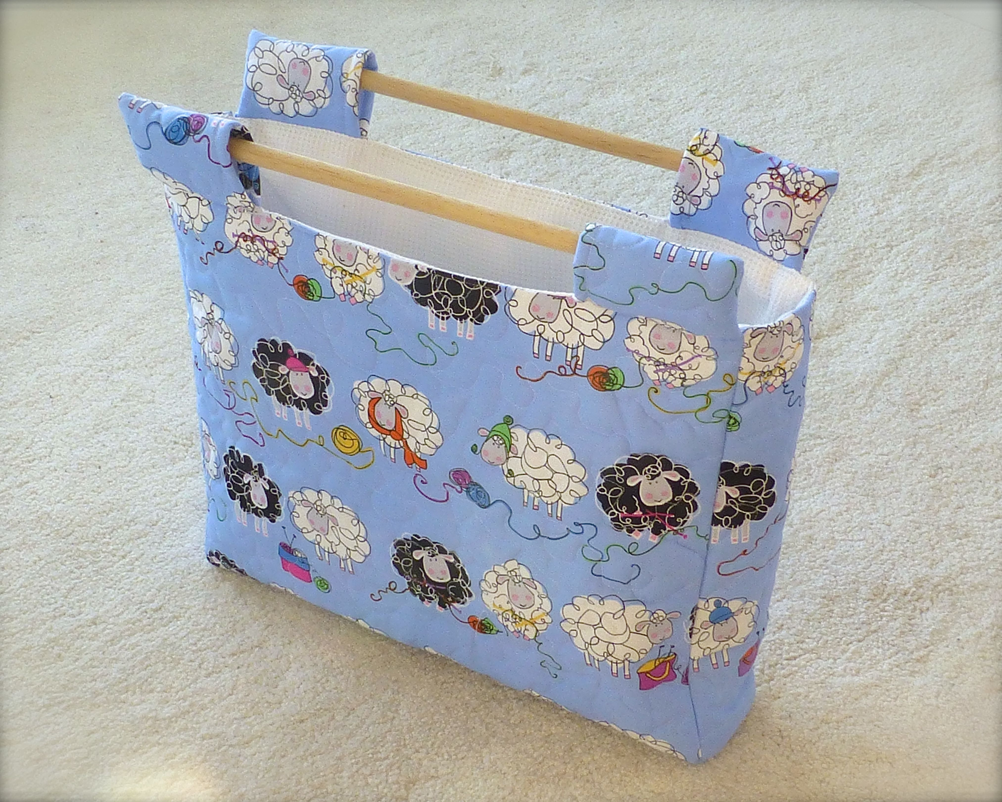 another bag perfect for knitting or crochet