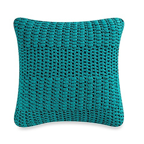 Inspirational Anthology™ Willa Crochet Square Throw Pillow In Lapis Crochet Throw Pillow Of Contemporary 41 Pics Crochet Throw Pillow