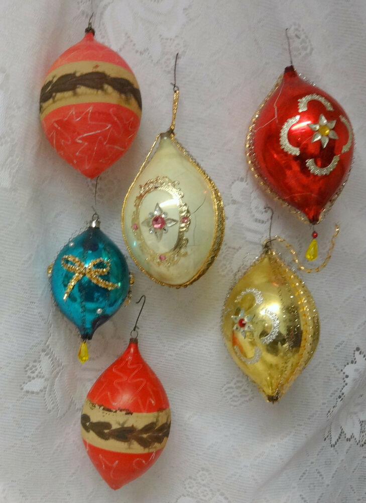 Inspirational Antique Victorian Germany Wire Wrap 6 Glass Christmas Vintage Christmas Tree ornaments Of Unique 49 Pics Vintage Christmas Tree ornaments