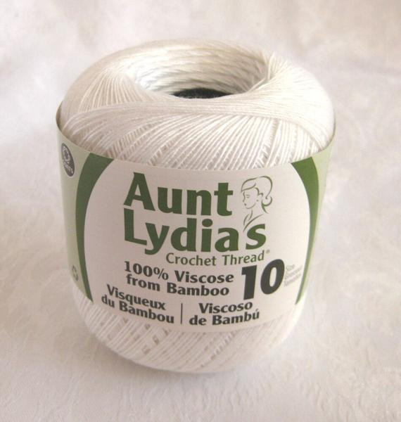 Inspirational Aunt Lydias Bamboo Thread White Size 10 Crochet by Crochetgal Bamboo Crochet Thread Of Awesome 29 Pics Bamboo Crochet Thread