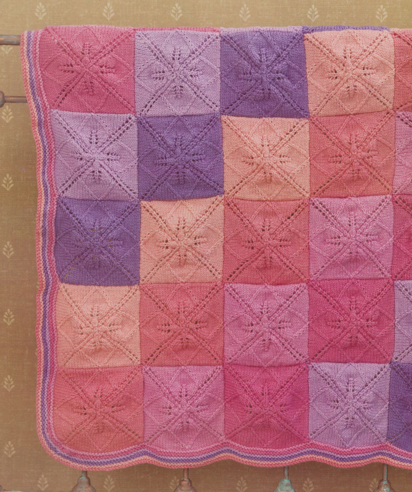 Inspirational Baby Blanket Knitting Pattern Indivual Leaf Squares Knitted Square Patterns Of Lovely 50 Models Knitted Square Patterns