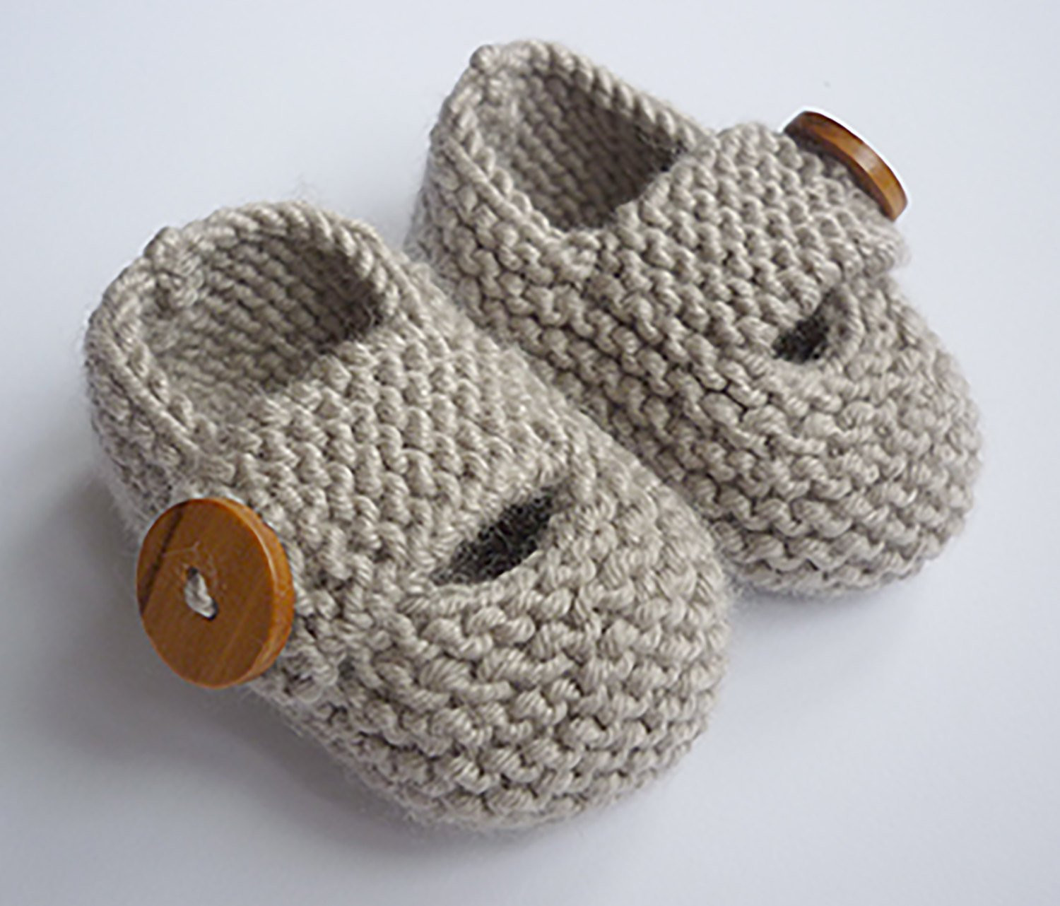 Baby Booties Knitting Pattern Baby Shoes PDF Knitting
