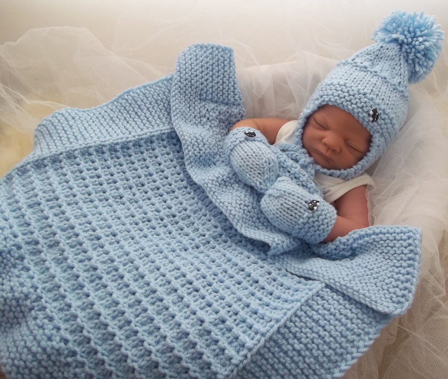 baby chunky knitting patterns to