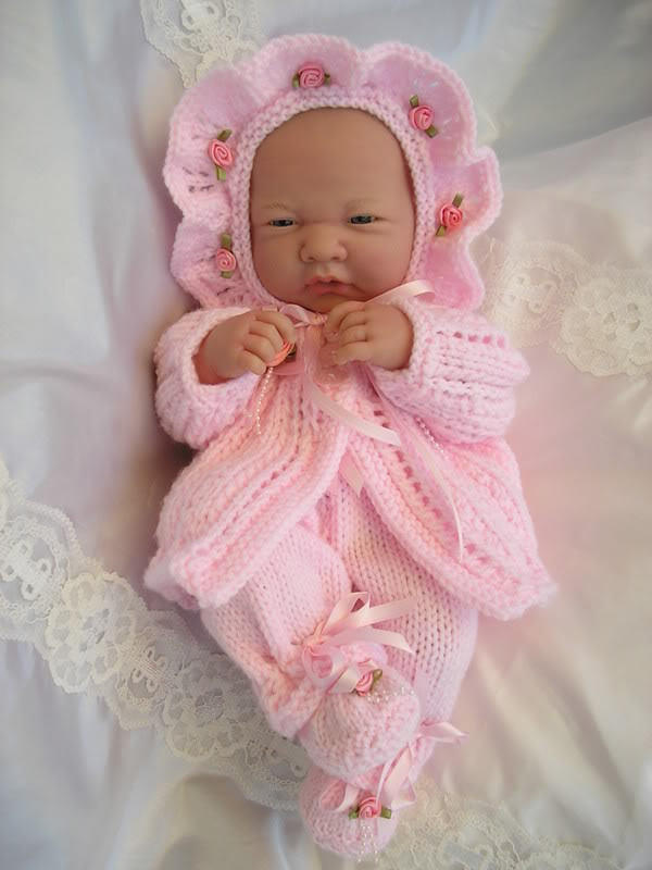 Inspirational Baby Dolls Knitting Pattern Matinee Set for 14 15 Knitted Doll Patterns Of Lovely 40 Models Knitted Doll Patterns
