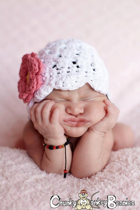 Inspirational Baby Girl Hat 0 to 3 Months Crochet Baby Girl Hat Flapper Crochet Baby Girl Hat Of Contemporary 45 Pics Crochet Baby Girl Hat