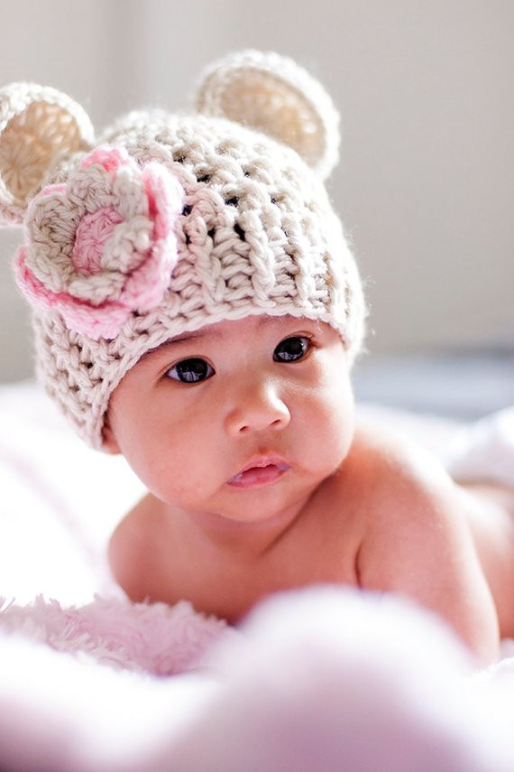 Inspirational Baby Girl Hat Baby Girl Crochet Hat Crochet Baby Hat Beanie Newborn Baby Beanies Of Contemporary 45 Pictures Newborn Baby Beanies